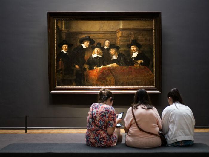 Op Bezoek Bij Het Rijksmuseum